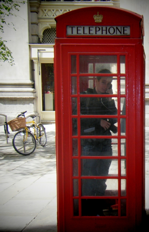 Red phonebox