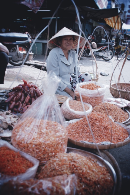 The Vietnamese take their dried shrimp very seriously.
